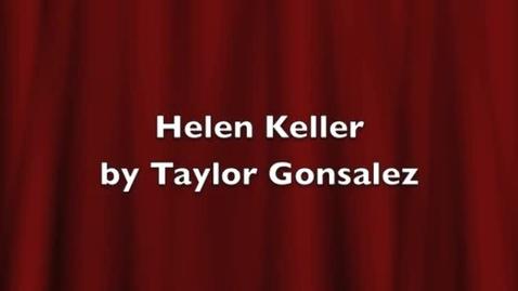 Thumbnail for entry Taylor Helen Keller Movie