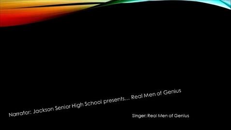 Thumbnail for entry Real Men Of Genius JLM
