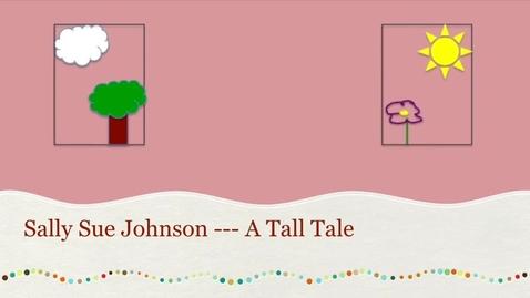 Thumbnail for entry Sally Sue Johnson