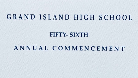 Thumbnail for entry GIHS Class of 2021 Commencement Ceremony 6-27-2021