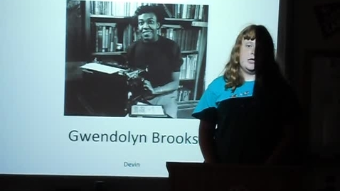 Thumbnail for entry Gwendolyn Brooks