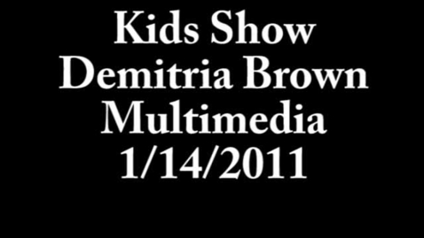 Thumbnail for entry kids show