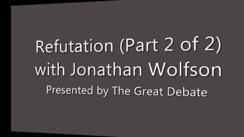 Thumbnail for entry Refutation (2 of 2)