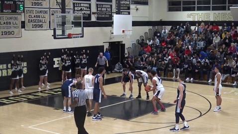 Thumbnail for entry EHHS Boys Basketball vs East Catholic 12/23/19 2 of 2