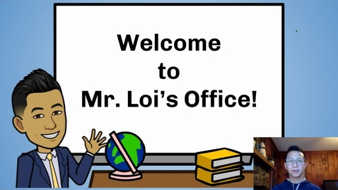 Thumbnail for entry Principal Loi's Message to Students: March 26, 2020