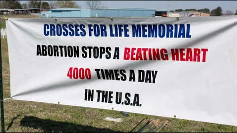 Thumbnail for entry Logan County Right to Life White Cross Memorial