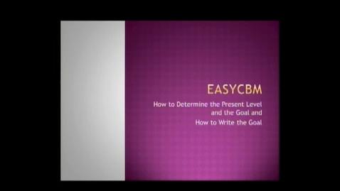 Thumbnail for entry EASY CBM
