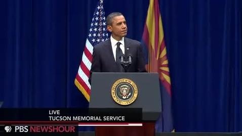Thumbnail for entry Watch President Obama's Full Speech at Tucson Memorial