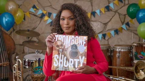Thumbnail for entry Trombone Shorty Read By Angela Bassett