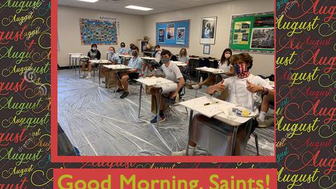 Thumbnail for entry Saints @ 8 - August 31, 2020