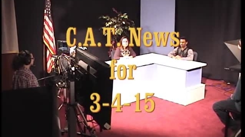 Thumbnail for entry News for week of 3-5-15