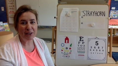 Thumbnail for entry Activity Time: Tuesday, April 13 - Decorate Glasses & Eye Chart Seek & Find