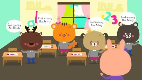 Thumbnail for entry Good Morning Song   Songs for Kids   Morning Song for Kindergarten   The Kiboomers