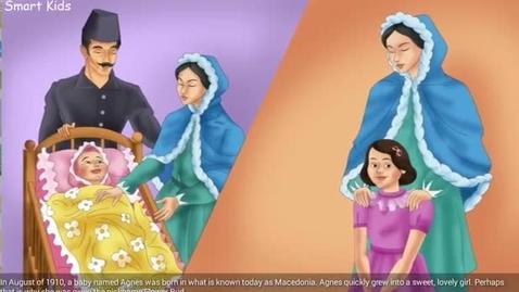 Thumbnail for entry Mother Teresa  Cartoon for kids