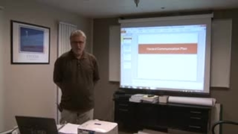 Thumbnail for entry Hazard Communication Plan