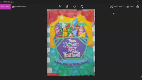Thumbnail for entry The crayon box that talked