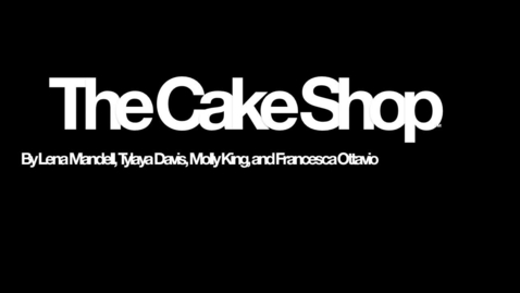 Thumbnail for entry The Cake Shop