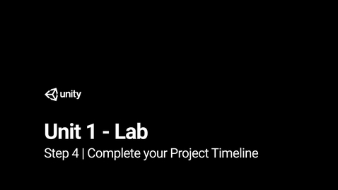 Thumbnail for entry Step 4 - Complete your Project Timeline