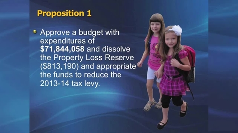 Thumbnail for entry Budget Part III Propositions