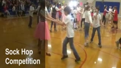 Thumbnail for entry Hill Country Middle School 6th Grade Sock Hop