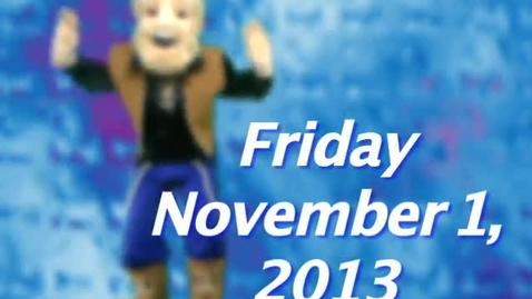Thumbnail for entry Friday, November 1, 2013