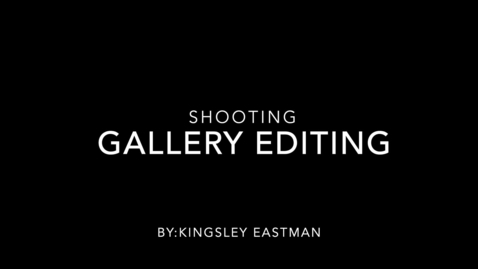 Thumbnail for entry Shooting Gallery Editing
