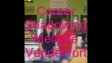 Thumbnail for entry Melanie Vandervort