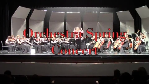 Thumbnail for entry Spring Orchestra Concert