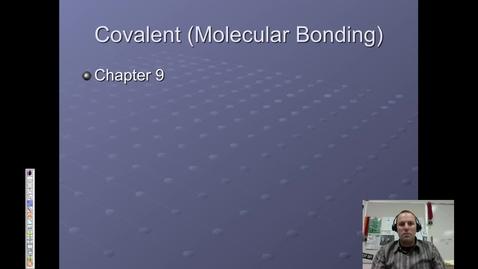 Thumbnail for entry 18. Covalent Bonding & Naming