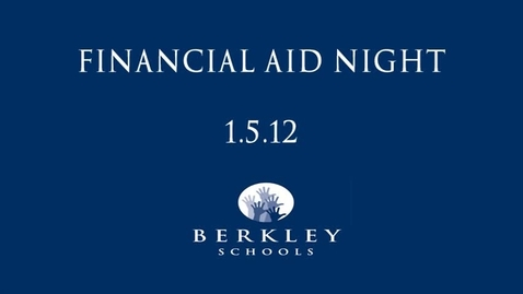 Thumbnail for entry BHS Financial Aid Night 2012
