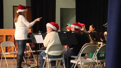 Thumbnail for entry CV holiday concert 2013: Faculty Band