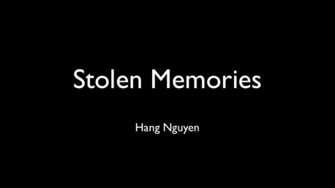 Thumbnail for entry Stolen Memories