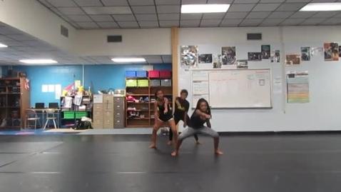 Thumbnail for entry 7th Period 6th grade Rhythm Name dances 10-20-16 group JS AS KJ