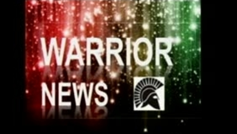 Thumbnail for entry Warrior News 8/23/13