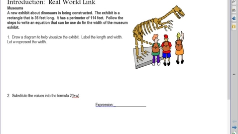 Thumbnail for entry AM Unit 6 Lesson 5 Example 1