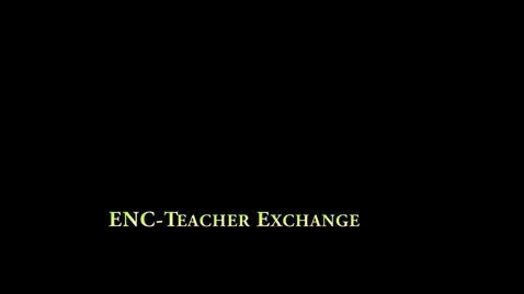 Thumbnail for entry ENC-Teacher Exchange: Gold School Danville (Northeast Elementary)