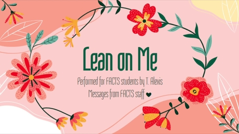 Thumbnail for entry Lean on Me