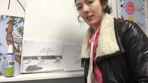 Thumbnail for entry Elementary art (beach/shading)