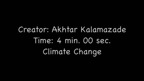 Thumbnail for entry Climate Change