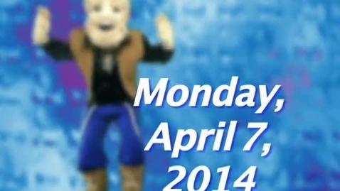Thumbnail for entry Monday, April 7, 2014