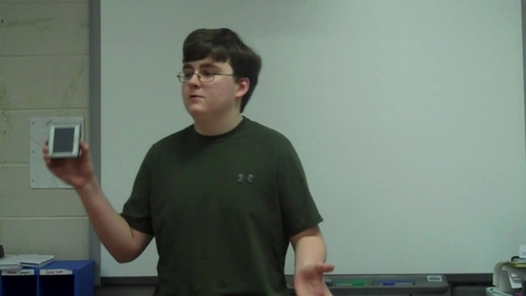 Thumbnail for entry Spring 2012 -- Using a Prop to Teach a Lesson -- Jarrett Jarvis -- Mr. Gilbert's class