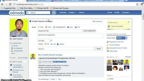 Thumbnail for entry Menambah koleksi Library di Edmodo