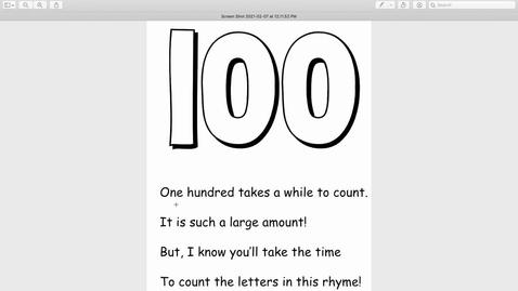 Thumbnail for entry 100 Poem (1)