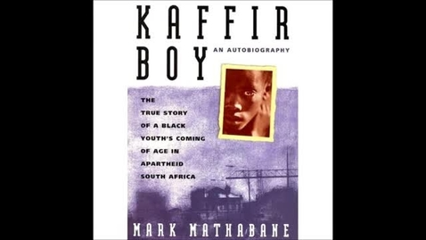 Thumbnail for entry Kaffir Boy by Mark Mathabane