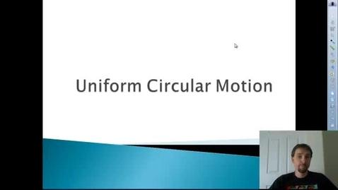 Thumbnail for entry AP Centripetal Acceleration