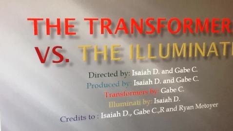 Thumbnail for entry The transformers Vs. The Illuminati