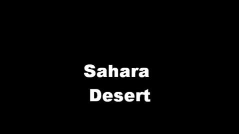 Thumbnail for entry Sahara Desert