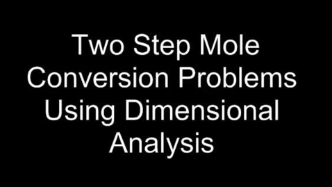 Thumbnail for entry Mole Conversions (two steps)