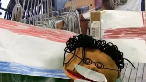 Thumbnail for entry Henry Hudson Green Screen Puppet Show