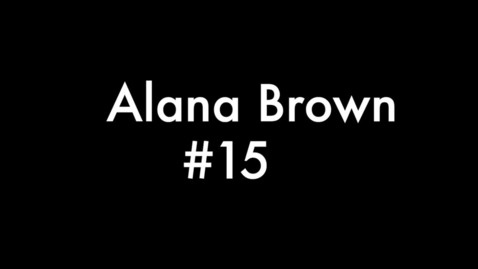 Thumbnail for entry Alana Brown